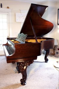 Steinway Grand Piano Model O Art Case (SEE VIDEO)