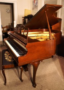 Art Case Knabe Baby Grand