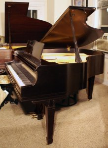 Knabe Ebony Baby Grand