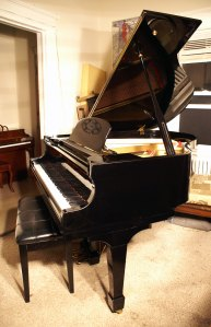 Schmann Baby Grand Piano