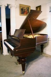 Chickering Baby Grand Piano