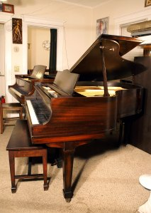 Harrington Mahogany Baby Grand