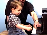 Kids Piano Playing