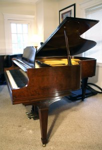 Knabe Baby Grand Piano Walnut