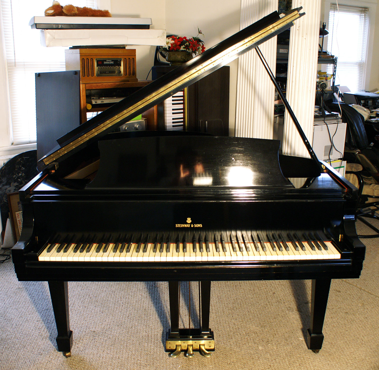 Piano For Sale Steinway Grand Piano Model M Ebony Ny