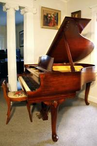 Used Steinway Model S Chippendale