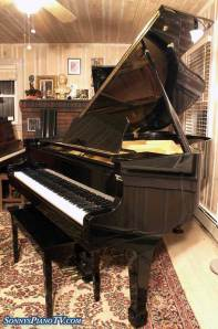 Ebony Schumann Grand Piano