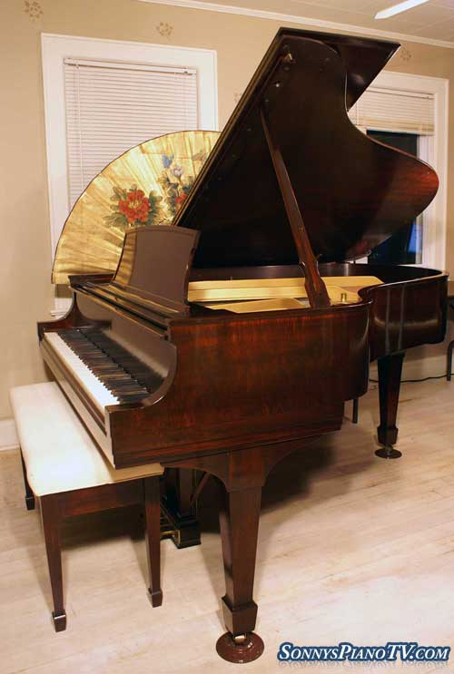 Sonny S Piano Tv Steinway Grand Piano Model L Flame