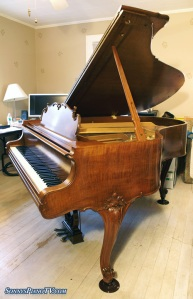 Used Steinway Grand Piano Model M