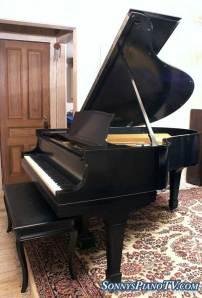 Used Steinway Model O Grand Piano