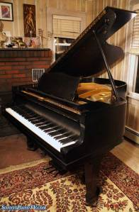 Ebony Yamaha Grand Piano