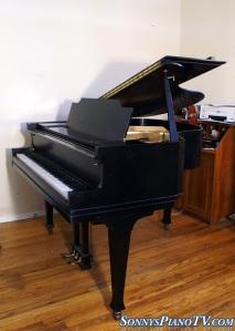 Cable Ebony Baby Grand Piano