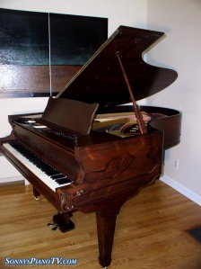 Sohmer Rosewood Grand Piano