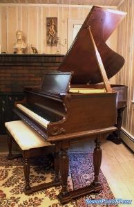 Sohmer Double Leg Art Case Piano