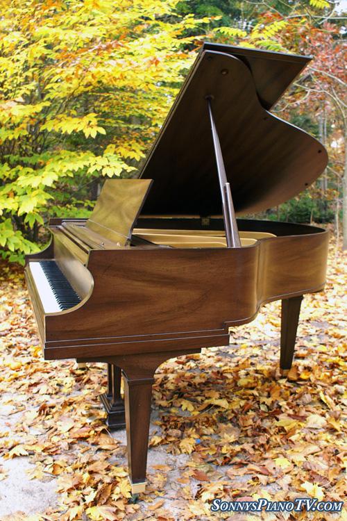Baldwin Baby Grand Piano 5 2 Model M Walnut 4950 See
