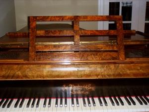 Broadwood 1830 Art Case Grand Piano Walnut 5000 Art