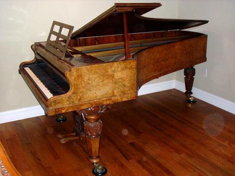 ... Grand Furniture Charlottesville Va By Broadwood 1830 Art Case Grand  Piano Walnut 5000 Art ...