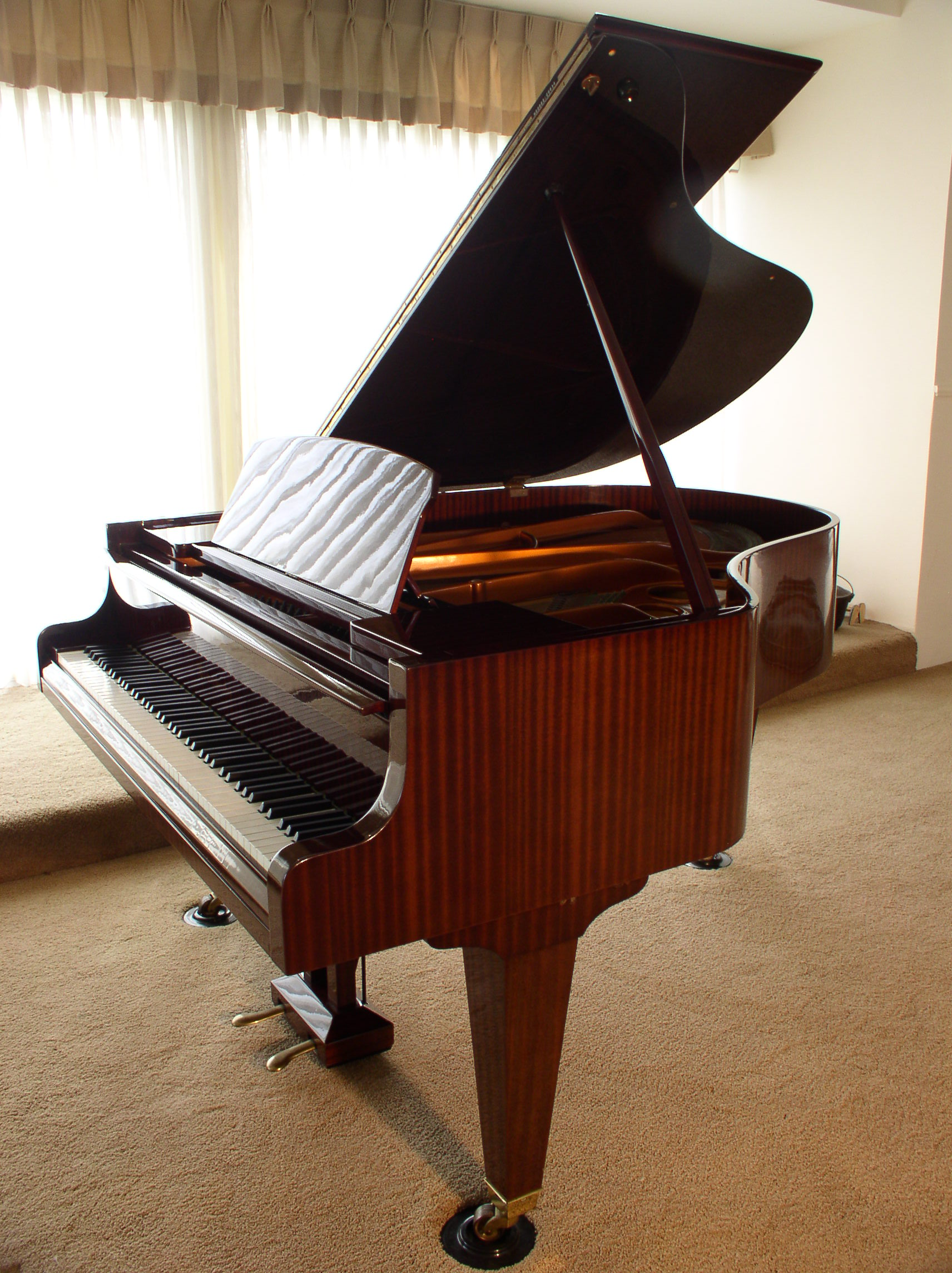 B 246 Sendorfer Grand Piano Model 170 5 8 1972 Ribbon