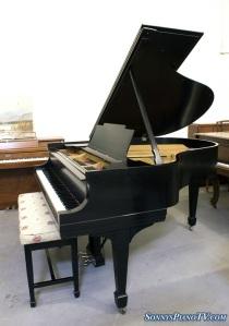 Steinway M Ebony Grand Piano