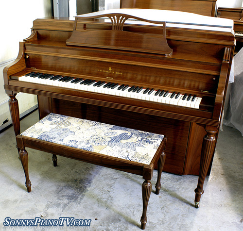 Grand Furniture Charlottesville Va: Steinway Console Piano 1948 Walnut Refurbished $4500