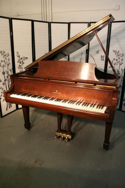 Steinway Baby Grand Piano Model S 1960 Mahogany Art Case