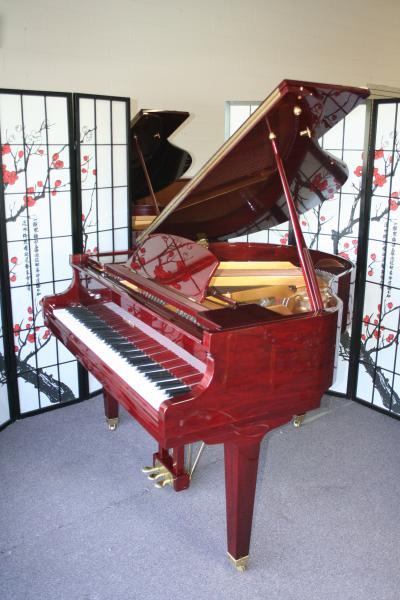 Wurlitzer Baby Grand Piano Video Red Mahogany 4 8 1998
