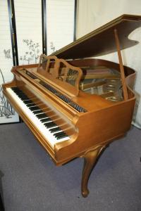 Art Case Knabe Baby Grand Piano, 1961, Pristine, Showroom Condition ...
