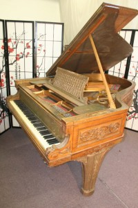 Art Case Steinway Grand Piano Model A King Louis XVI