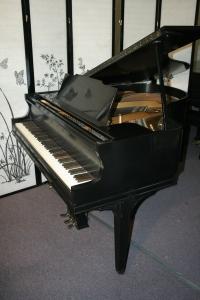 Sohmer Baby Grand Piano Semi-Gloss Ebony 1936