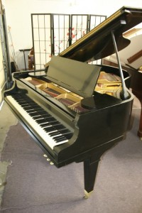 "Mason & Hamlin Baby Grand Ebony-Mason & Hamlin 5'3"" 1929 Reconditioned 2013"