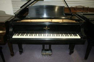 Steinway Grand Piano Model B Ebony