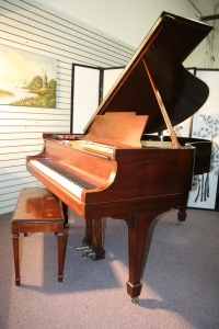 Steinway Grand Piano Model M Excellent Original Steinway Parts New strings/Pins/refinished $19,500