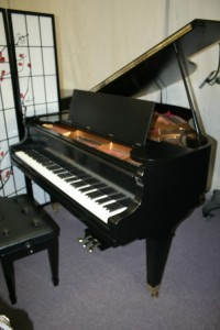 "Mason & Hamlin Baby Grand Ebony-Mason & Hamlin Rare Model T 5'3"" 1929 Made in Boston Expertly Rebuilt & Refinished June 2013"