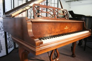 "Art Case Steinway Baby Grand Piano ""Chippendale Style"" (VIDEO) Steinway Piano Model S 1939"