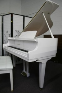 White Gloss Baby Grand D.H. Baldwin 1998