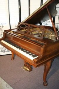 Art Case Steinway Baby Grand Piano Chippendale Style (VIDEO) Steinway Piano Model S 1939 15,500