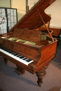 Victorian Steinway Grand Piano Model C Steinway Grand Piano 7'5' Rebuilt/Refinished $35,000
