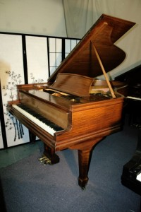 Steinway Grand Piano XR Model O 1920 New Bass Strings/Refurbished