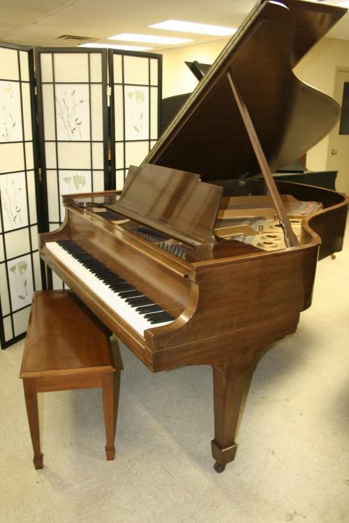Steinway Grand Piano Model L Walnut 1926 Refurbished 10